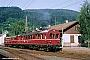 """Fuchs ? - DB """"485 005-3"""" 23.07.1975 Zell(Wiesental),Bahnhof [D] Ulrich Budde"""