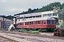 """MaK 504 - SWEG """"VT 85"""" 29.06.1984 - Menzingen, BahnhofIngmar Weidig"""