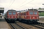 "MAN 128142 - DB ""455 404-4"" 28.04.1982 Neckarelz,Bahnhof [D] Martin Welzel"