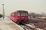 """VEB Bautzen 6/1963 - DR """"171 813-9"""" 02.02.1987 Haldensleben,Bahnhof [DDR] Michael Uhren"""
